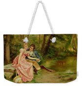 The Lovers Weekender Tote Bag by Joseph Frederick Charles Soulacroix