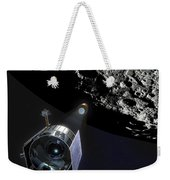 The Lunar Crater Observation Weekender Tote Bag