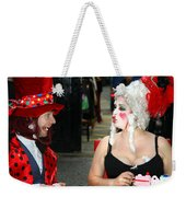 The Mad Hatter And The Red Queen Weekender Tote Bag