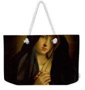 The Madonna In Sorrow Weekender Tote Bag