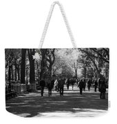 The Mall At Central Park Weekender Tote Bag