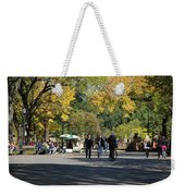 The Mall In Central Park Weekender Tote Bag
