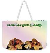 The Mangosteen - Queen Of Tropical Fruits Weekender Tote Bag