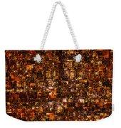 The Masses Of Metropolis Weekender Tote Bag