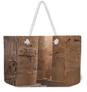 The Massive Columns In The Hypostyle Weekender Tote Bag