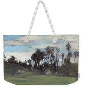 The Meadow Lined With Trees  Weekender Tote Bag