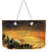 The Meteor Crater In Az 1 Weekender Tote Bag