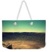 The Meteor Crater In Az 4 Weekender Tote Bag