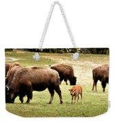 The Mighty Bison Weekender Tote Bag