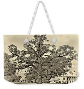 The Mighty One Sepia Weekender Tote Bag
