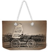 The Milk Wagon Weekender Tote Bag