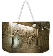 The Miracle At Cana In Galilee - Wieliczka Salt Mine Weekender Tote Bag