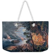 The Mississippi In Time Of War Weekender Tote Bag