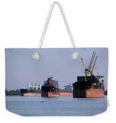 The Mississippi River Weekender Tote Bag