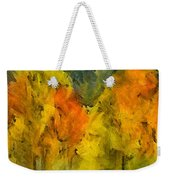 The Mist In The  Autumn Weekender Tote Bag