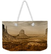 The Mittens At Monument Valley Weekender Tote Bag
