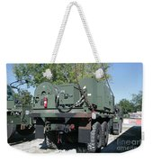 The Mk48 Logistics Vehicle System Weekender Tote Bag