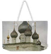 The Monastery Of The Resurrection. Uglich Russia Weekender Tote Bag