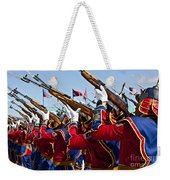 The Mongolian State Honor Guard Weekender Tote Bag