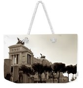The Monumento Nazionale A Vittorio Emanuele II Weekender Tote Bag