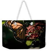 The Morning Monarch Weekender Tote Bag