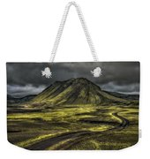 The Mountain Pass Weekender Tote Bag by Evelina Kremsdorf