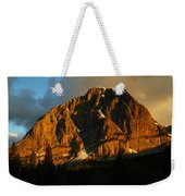 The Mountain Says Good Morning Weekender Tote Bag