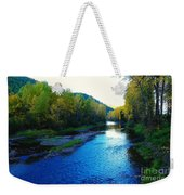 The Moyie River Near Yak B C Weekender Tote Bag
