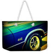 The Muscle Car Oldsmobile 442 Weekender Tote Bag