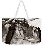 The Music Man - Monochrome Weekender Tote Bag
