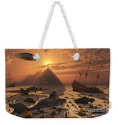 The Mysterious Bermuda Triangle Where Weekender Tote Bag