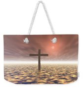 The Mystery Of The Cross Weekender Tote Bag