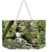 The Mystery Waterfall Weekender Tote Bag