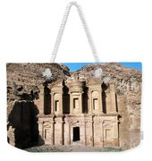 The Nabateian Temple Of Al Deir Weekender Tote Bag