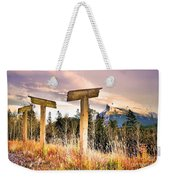 The Names Of The Mountains Weekender Tote Bag