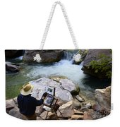 The Narrows Quality Time Weekender Tote Bag