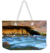 The Narrows Virgin River Zion 4 Weekender Tote Bag