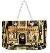 The Nave At St Davids Cathedral 2 Weekender Tote Bag