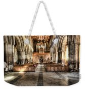 The Nave At St Davids Cathedral 3 Weekender Tote Bag