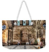 The Nave At St Davids Cathedral 5 Weekender Tote Bag