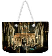 The Nave At St Davids Cathedral Weekender Tote Bag