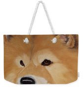 The Noble Chow Weekender Tote Bag