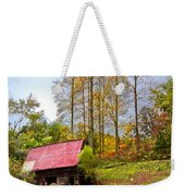 The Old Barn At Grandpas Farm Weekender Tote Bag