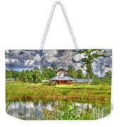 The Old Barn By The Pond Weekender Tote Bag