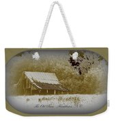 The Old Barn - Franklinton N.c. Weekender Tote Bag