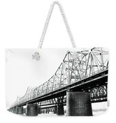 The Old Bridges At Memphis Weekender Tote Bag