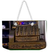 The Old Copper Cash Machine Weekender Tote Bag