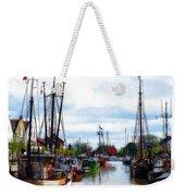 The Old Harbor Weekender Tote Bag