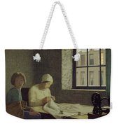The Old Nurse Weekender Tote Bag