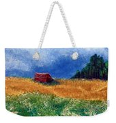 The Old Red Barn Weekender Tote Bag